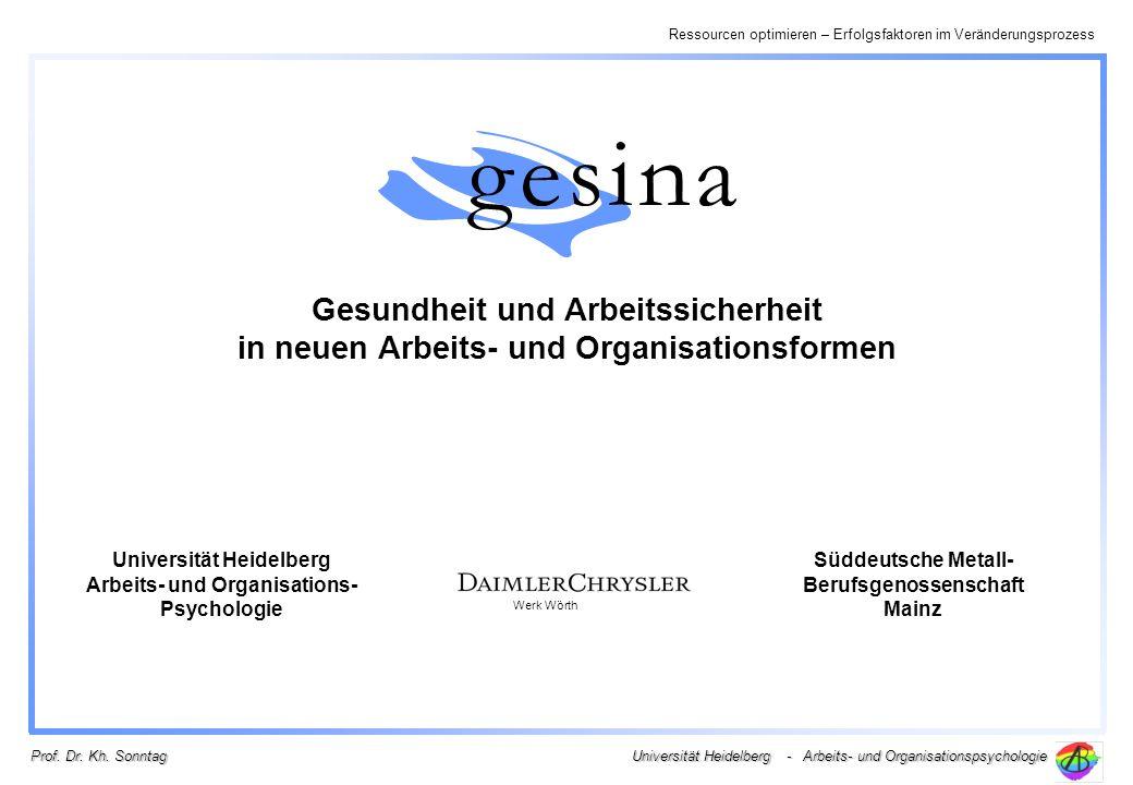 Universität Heidelberg Arbeits- und Organisations- Psychologie