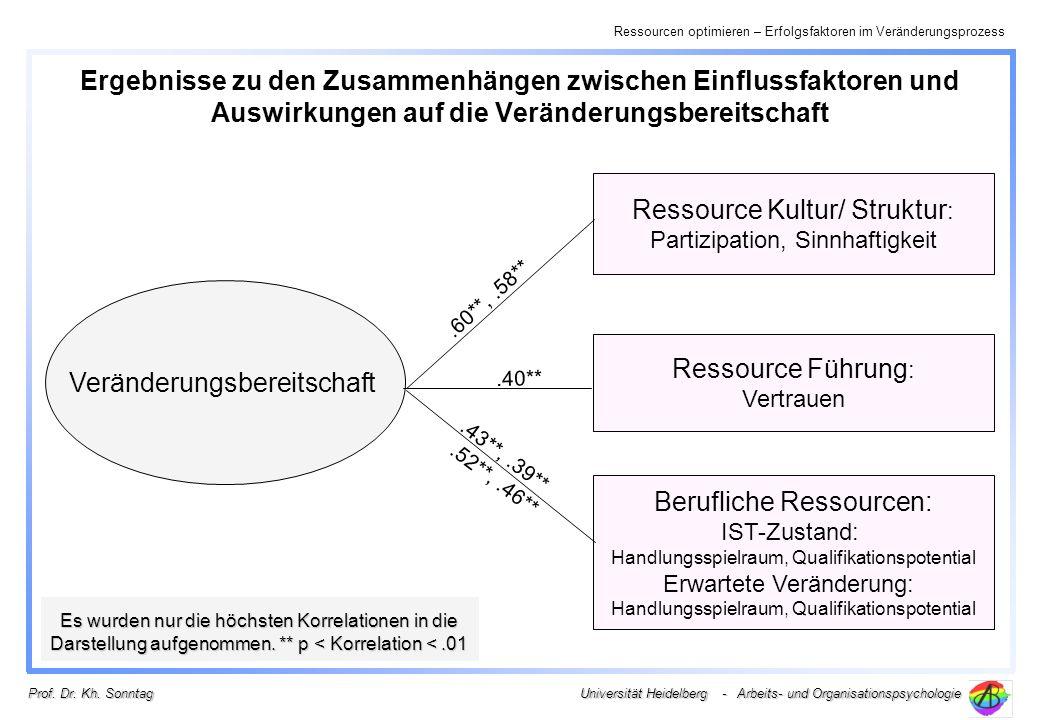 Ressource Kultur/ Struktur: