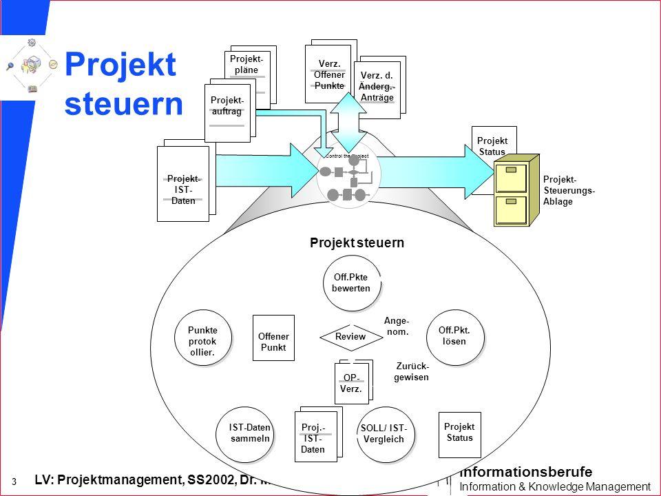 Projekt steuern Projekt steuern Projekt steuern