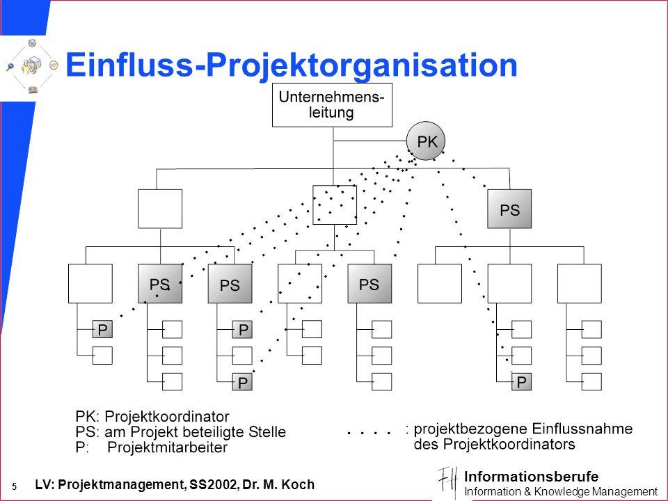 Einfluss-Projektorganisation