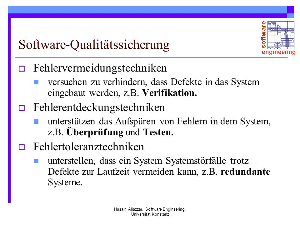 Software-Qualitätssicherung