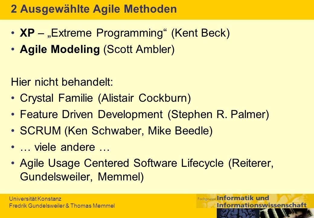 2 Ausgewählte Agile Methoden