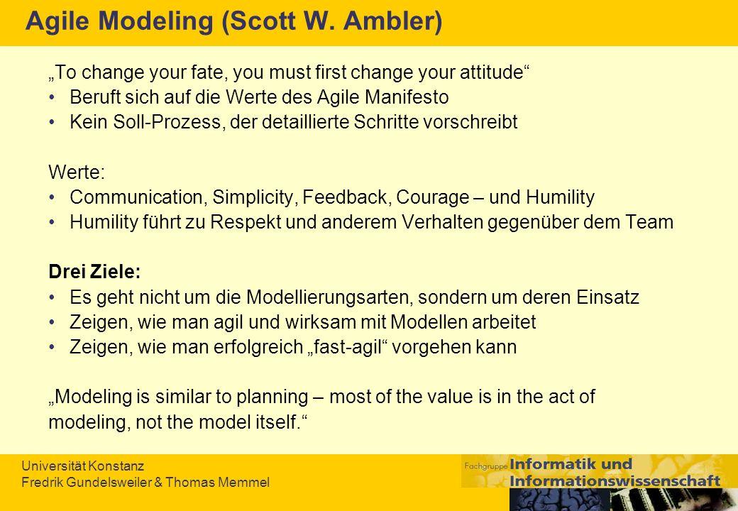 Agile Modeling (Scott W. Ambler)