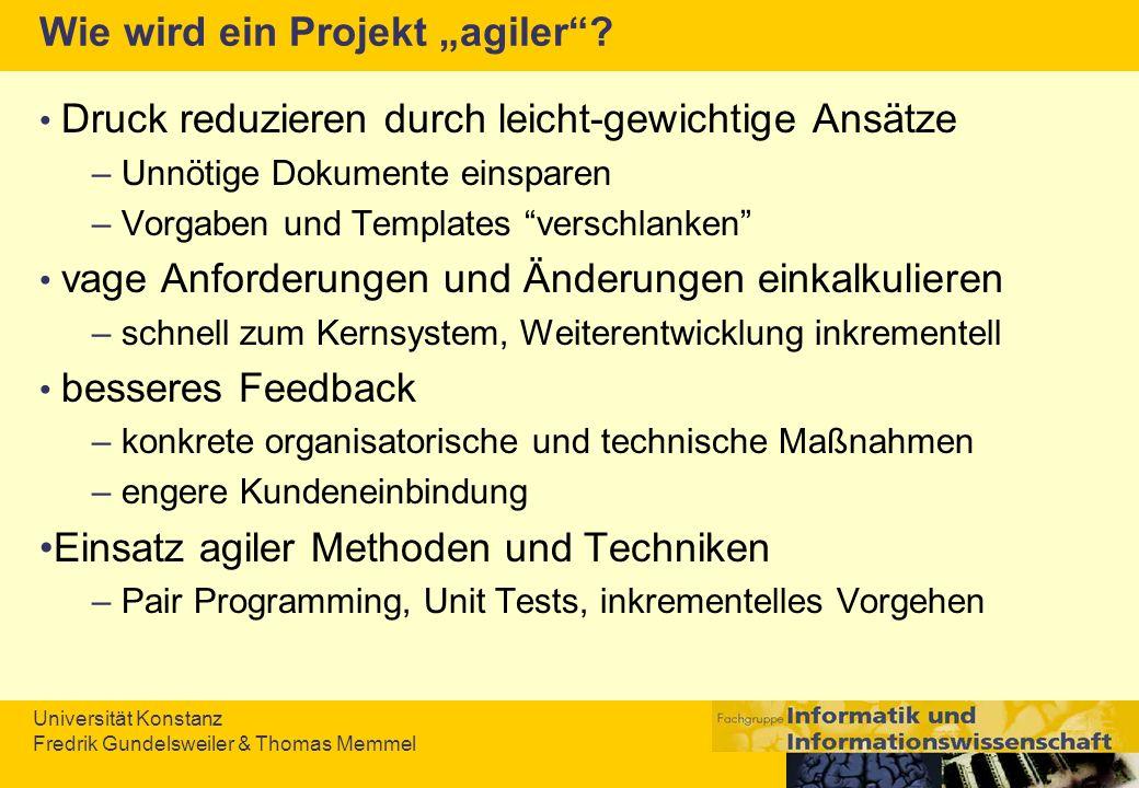 """Wie wird ein Projekt """"agiler"""