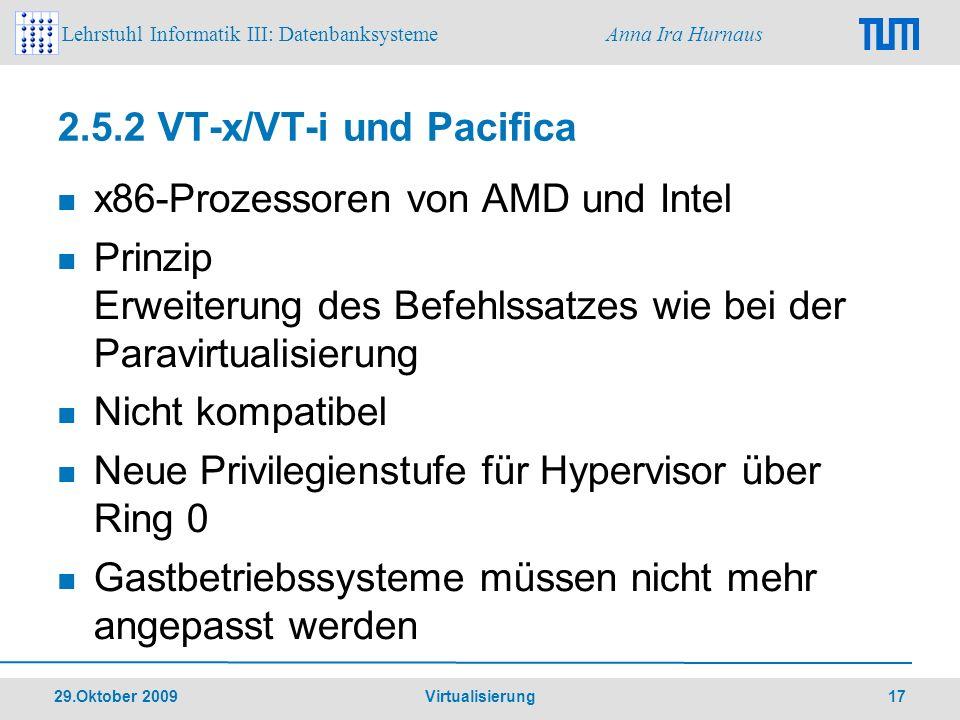 2.5.2 VT-x/VT-i und Pacifica
