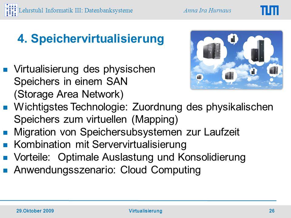 4. Speichervirtualisierung