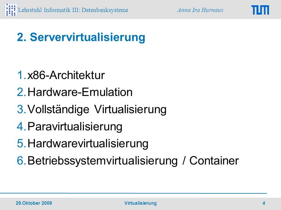 2. Servervirtualisierung