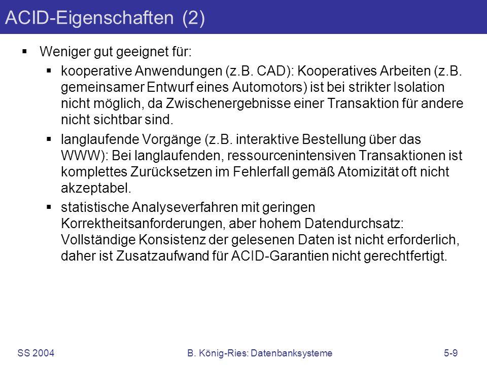 ACID-Eigenschaften (2)