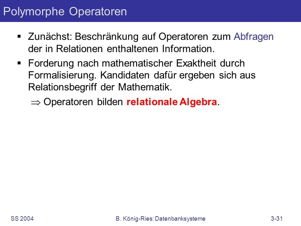 Polymorphe Operatoren