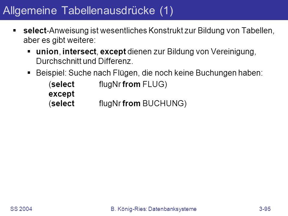 Allgemeine Tabellenausdrücke (1)