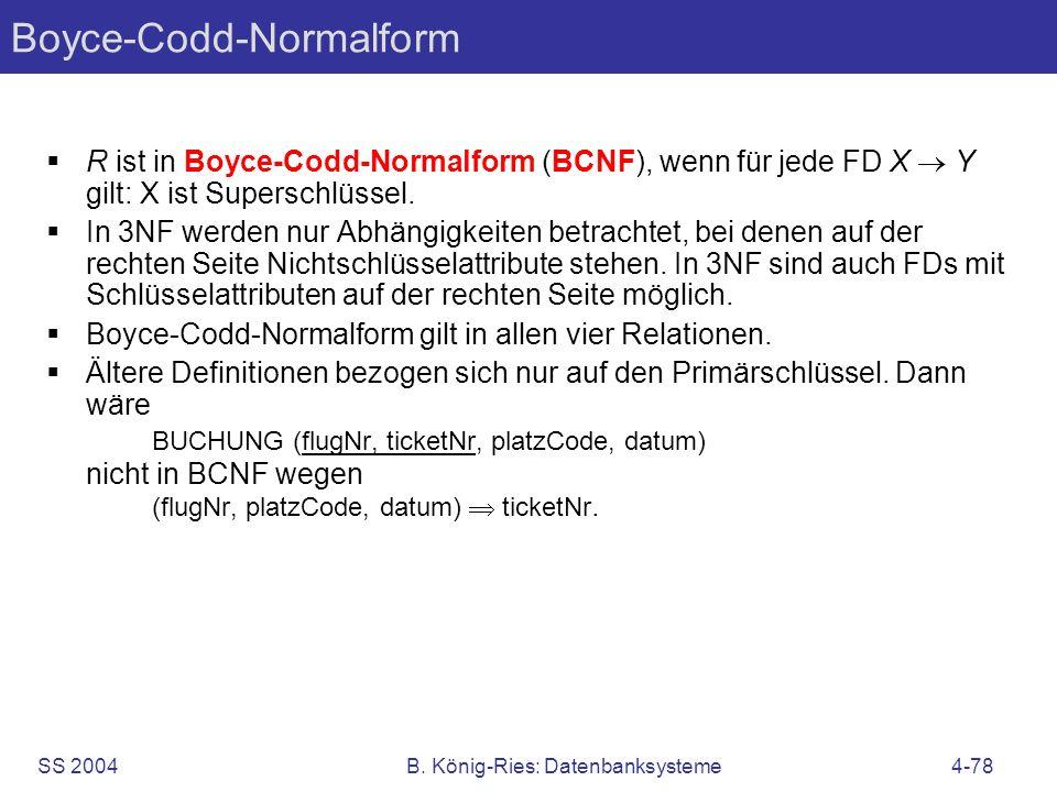 Boyce-Codd-Normalform