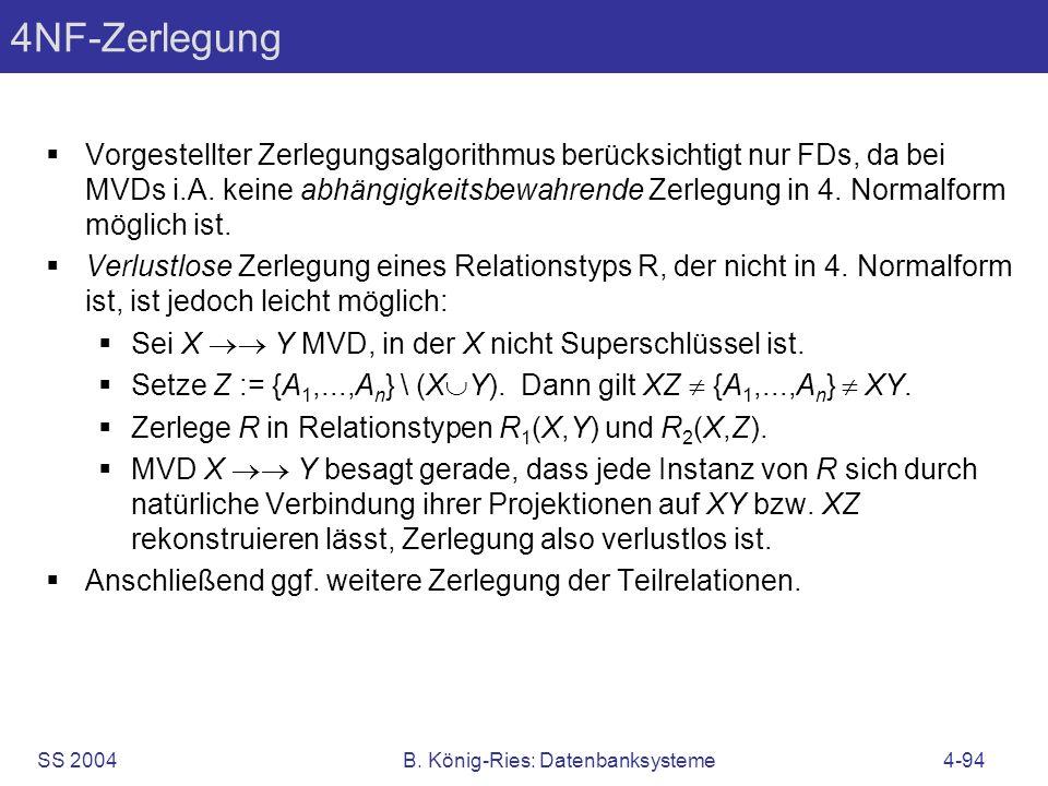 B. König-Ries: Datenbanksysteme