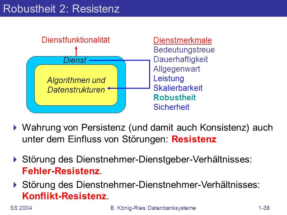 Robustheit 2: Resistenz