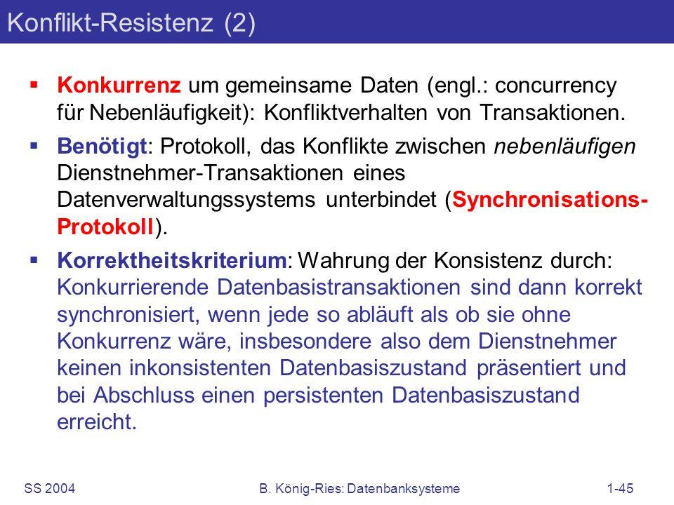 Konflikt-Resistenz (2)