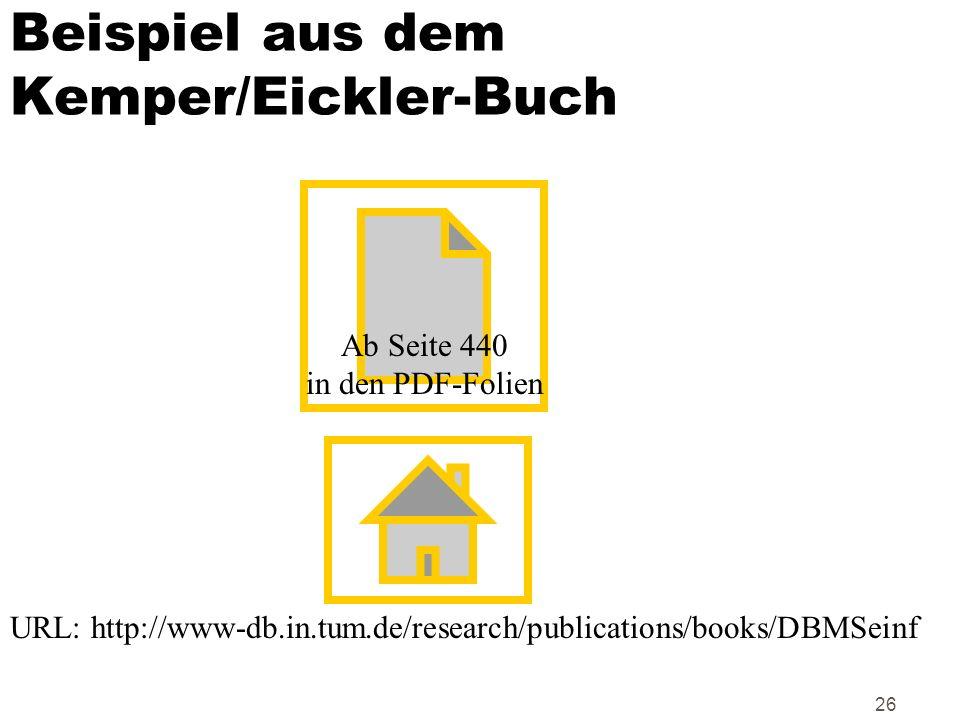 Beispiel aus dem Kemper/Eickler-Buch