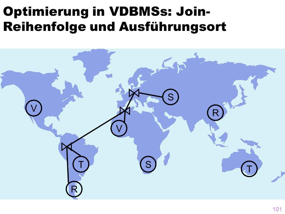 Optimierung in VDBMSs: Join-Reihenfolge und Ausführungsort