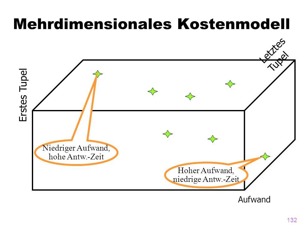 Mehrdimensionales Kostenmodell