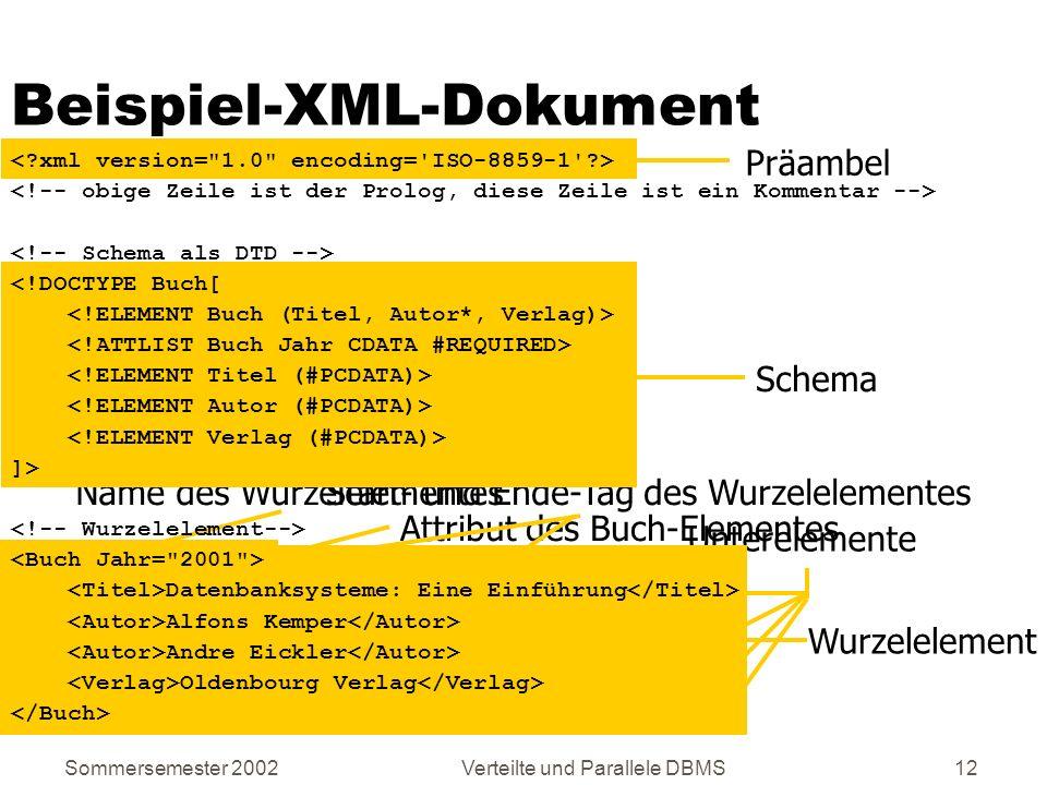 Beispiel-XML-Dokument