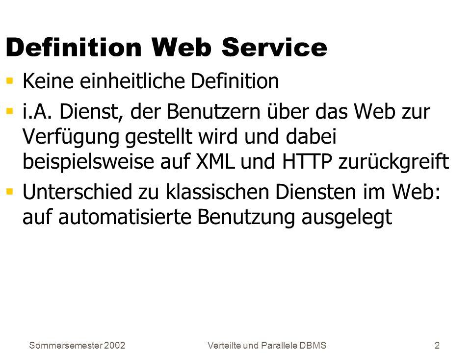 Definition Web Service