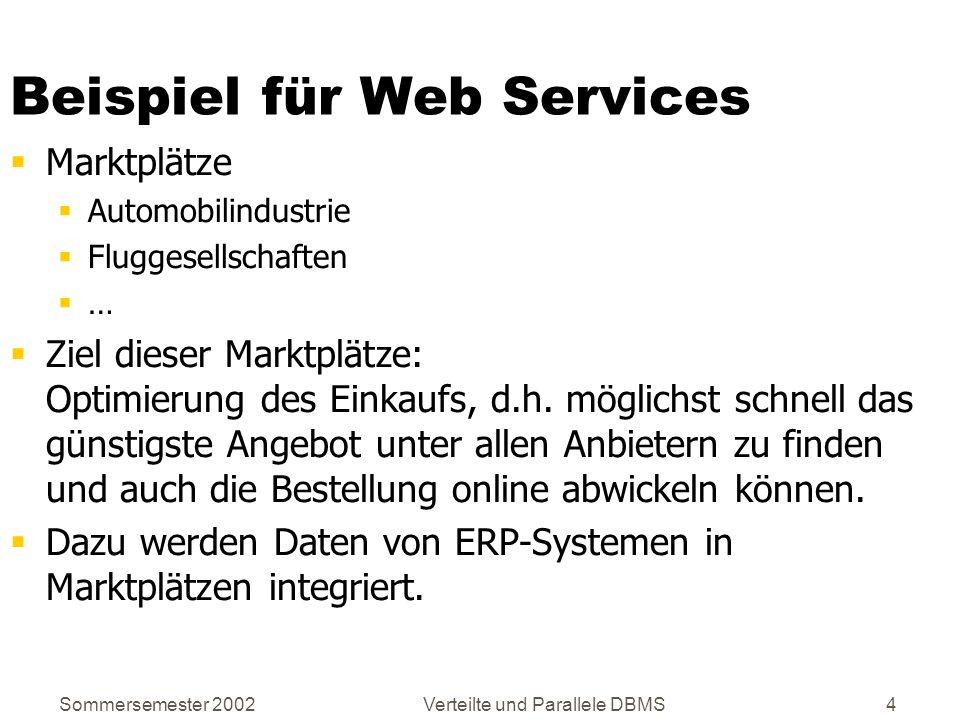 Beispiel für Web Services