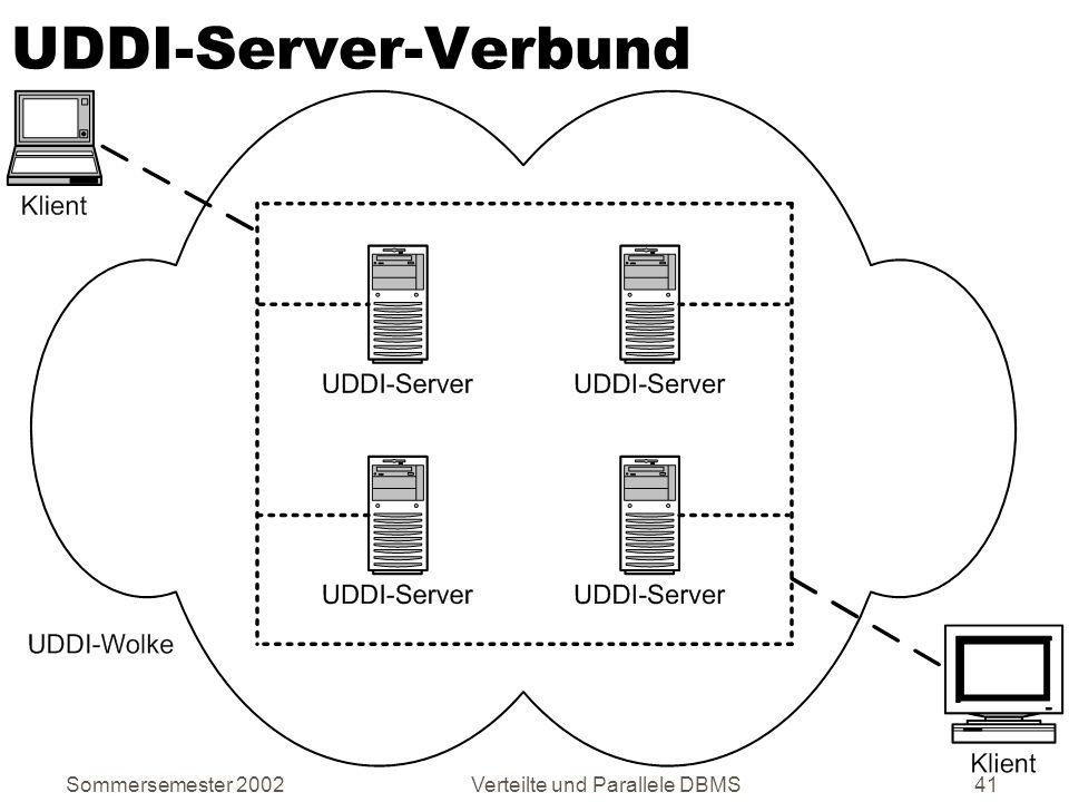Verteilte und Parallele DBMS