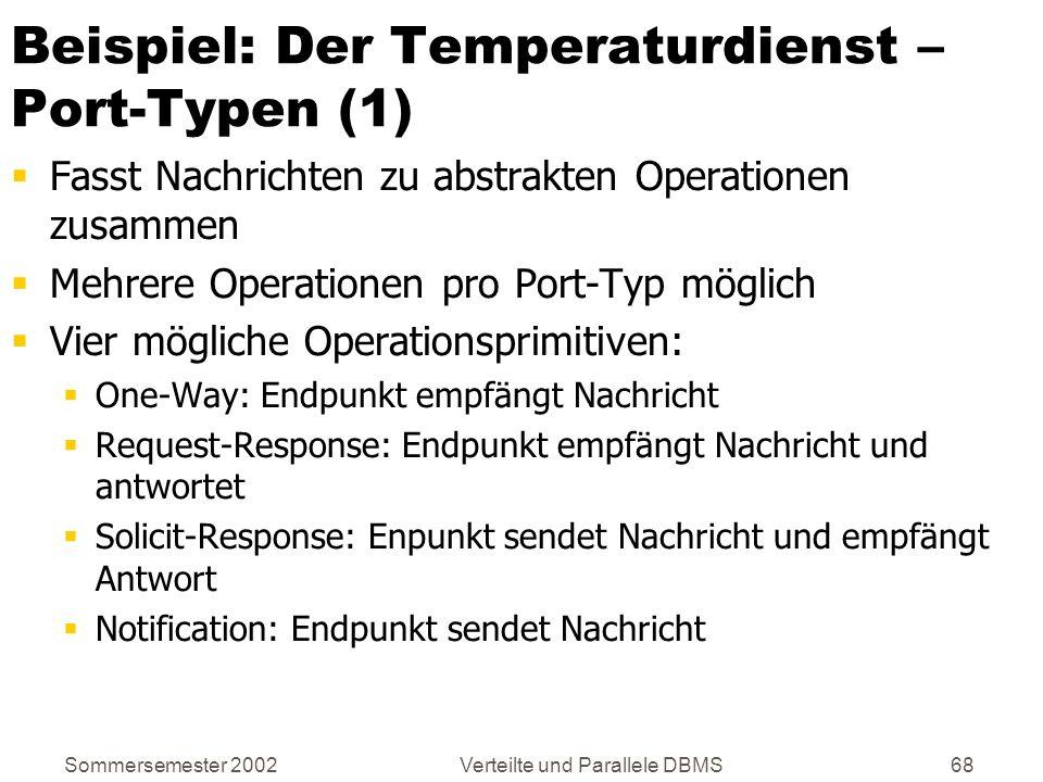 Beispiel: Der Temperaturdienst – Port-Typen (1)
