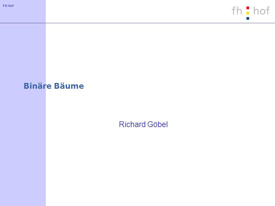 Binäre Bäume Richard Göbel
