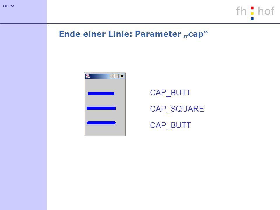 """Ende einer Linie: Parameter """"cap"""