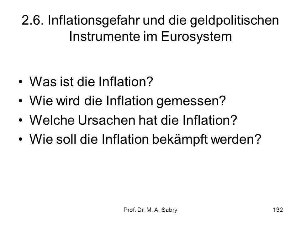 Wie wird die Inflation gemessen Welche Ursachen hat die Inflation