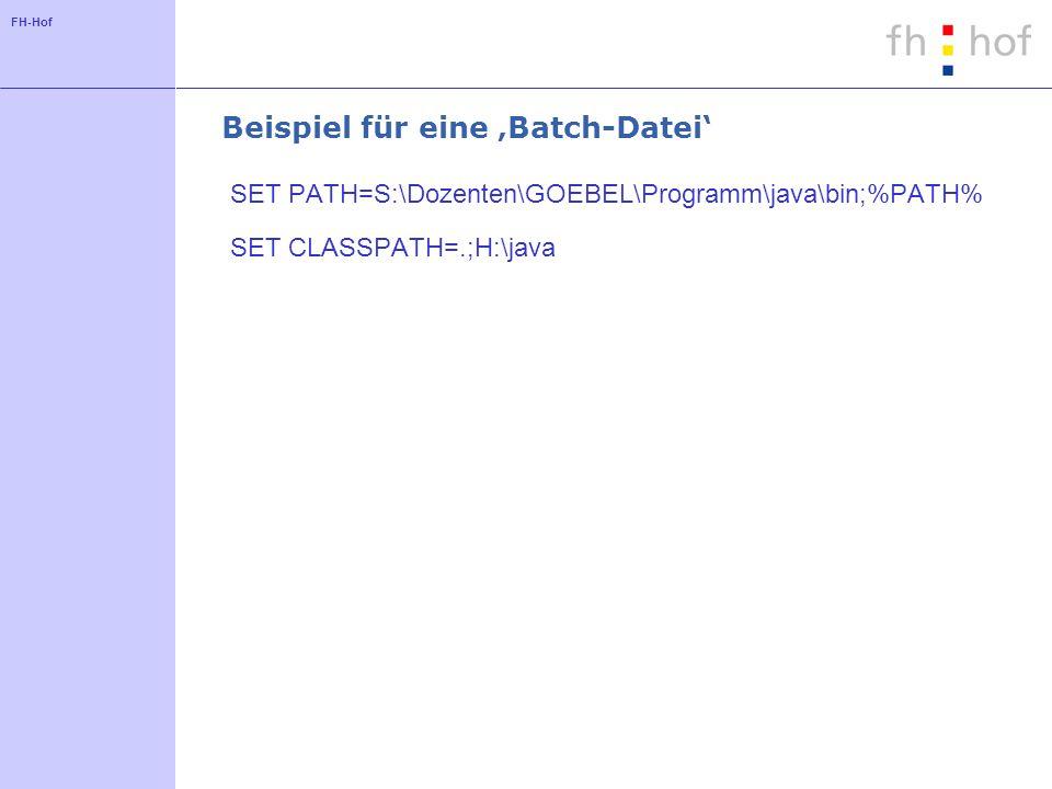 Beispiel für eine 'Batch-Datei'