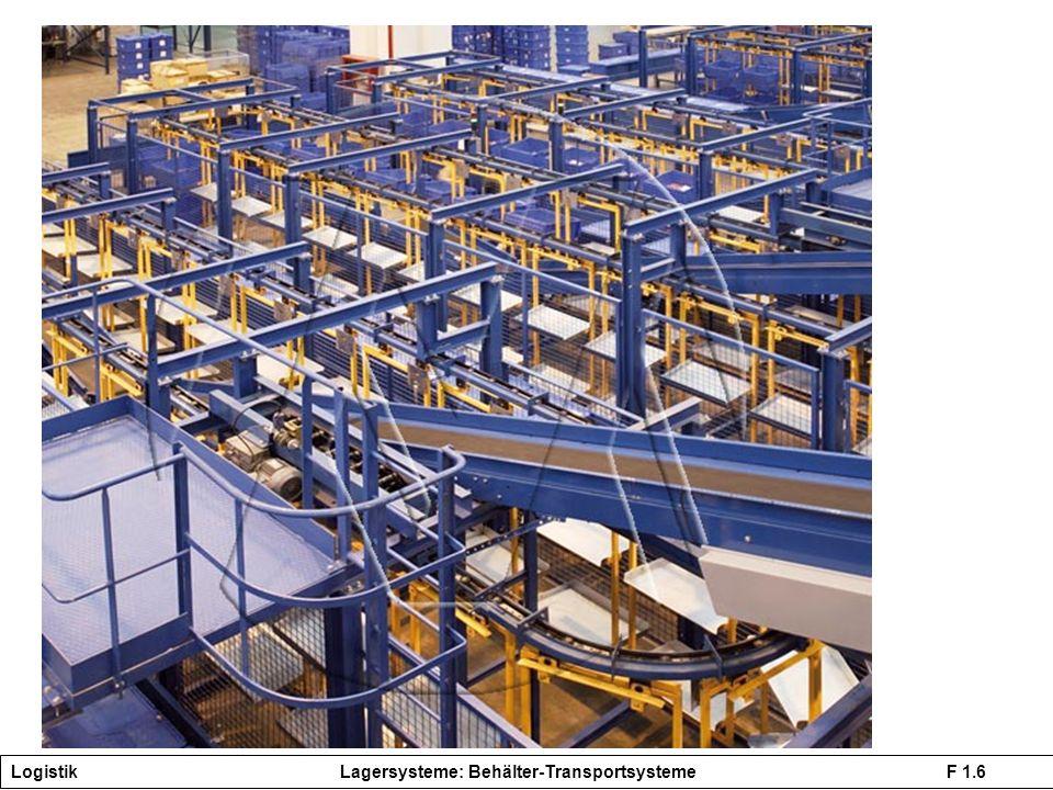Logistik Lagersysteme: Behälter-Transportsysteme F 1.6