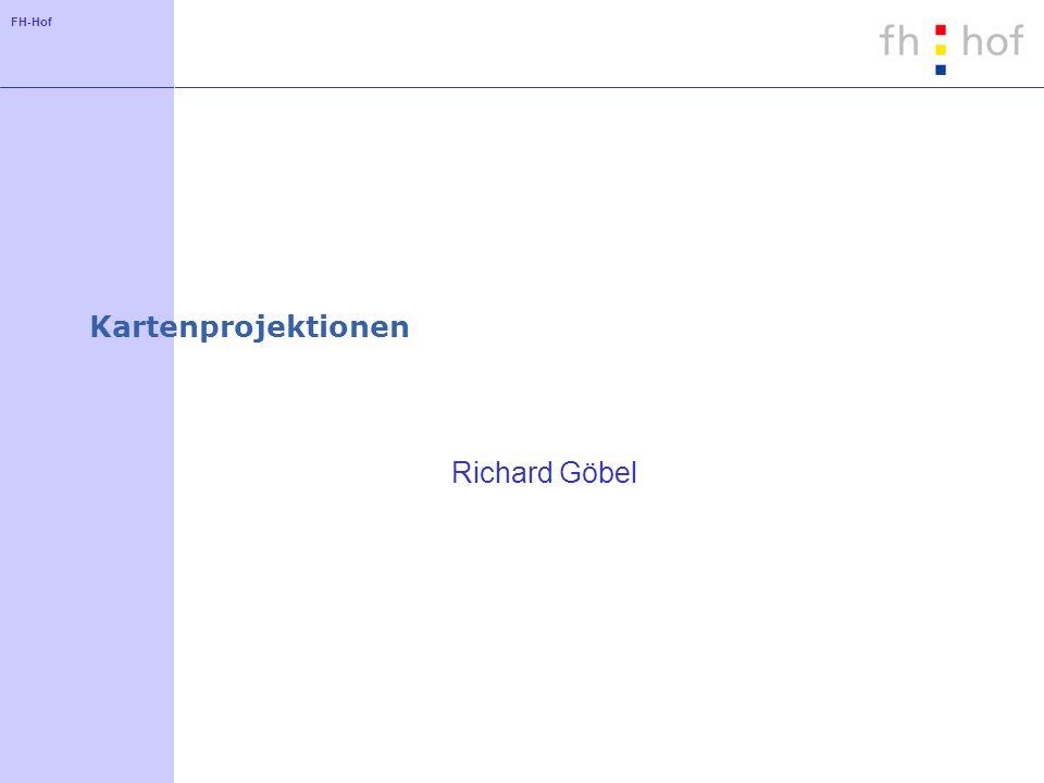 Kartenprojektionen Richard Göbel