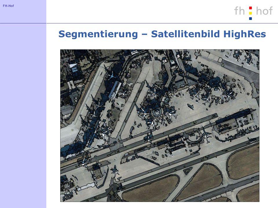 Segmentierung – Satellitenbild HighRes