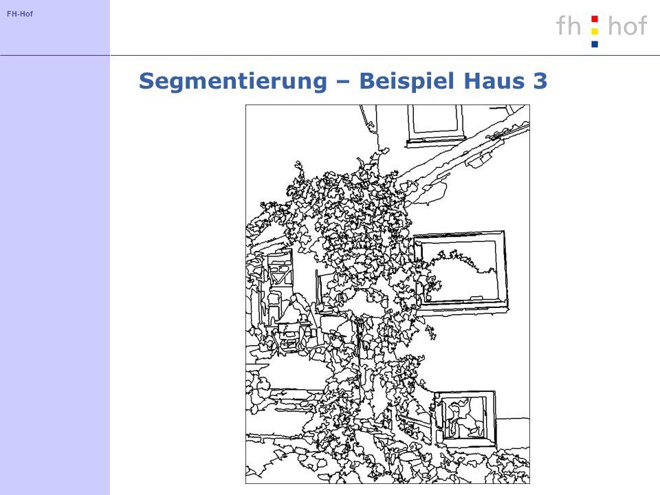 Segmentierung – Beispiel Haus 3