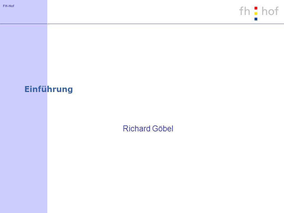 Einführung Richard Göbel
