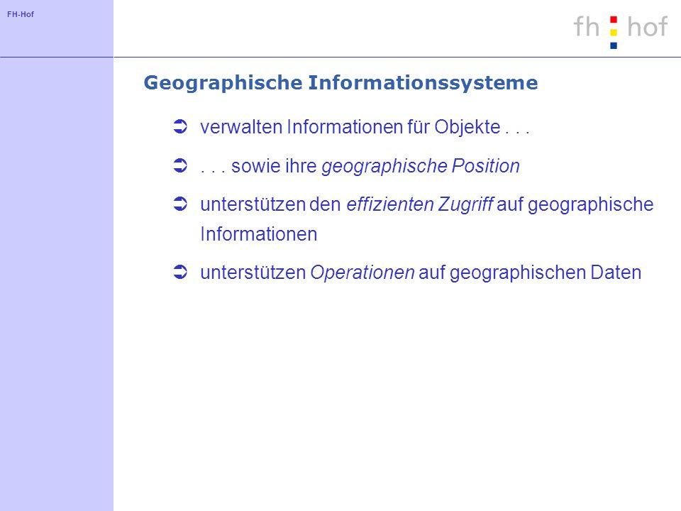 Geographische Informationssysteme