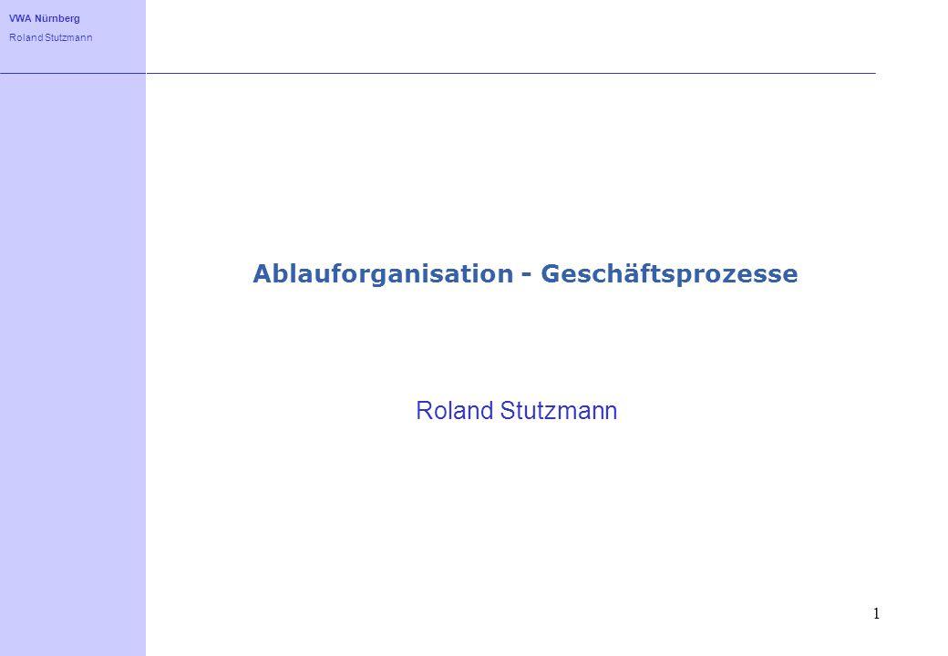 Ablauforganisation - Geschäftsprozesse
