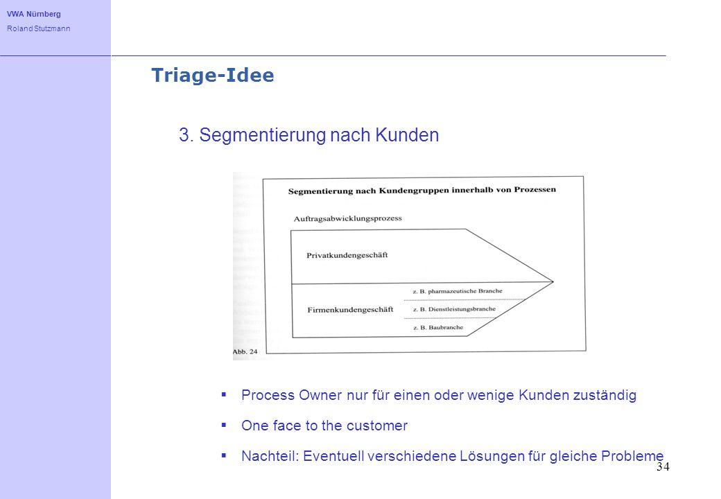 3. Segmentierung nach Kunden