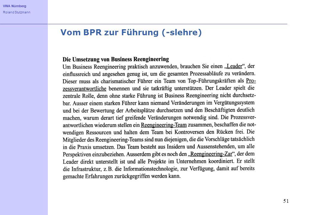 Vom BPR zur Führung (-slehre)