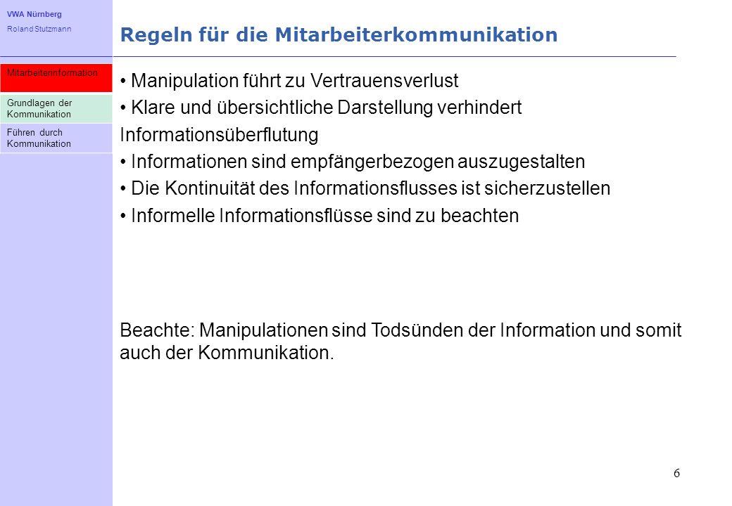 Regeln für die Mitarbeiterkommunikation