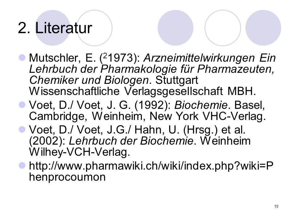 2. Literatur