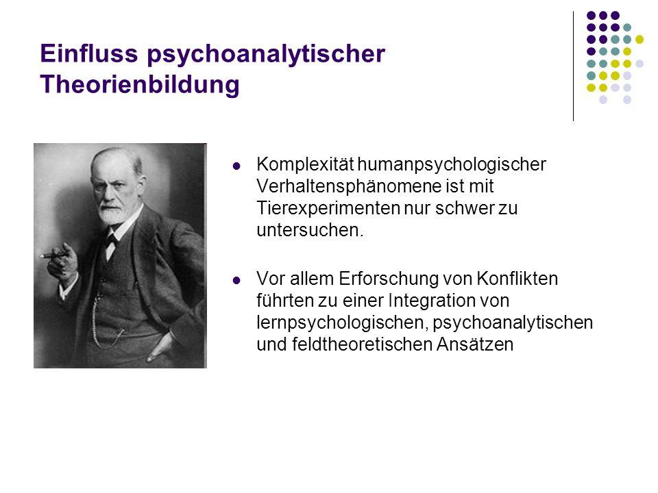 Einfluss psychoanalytischer Theorienbildung