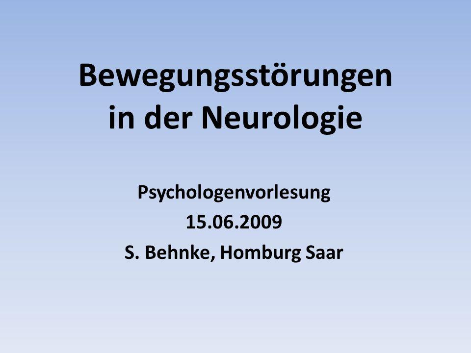 Bewegungsstörungen in der Neurologie