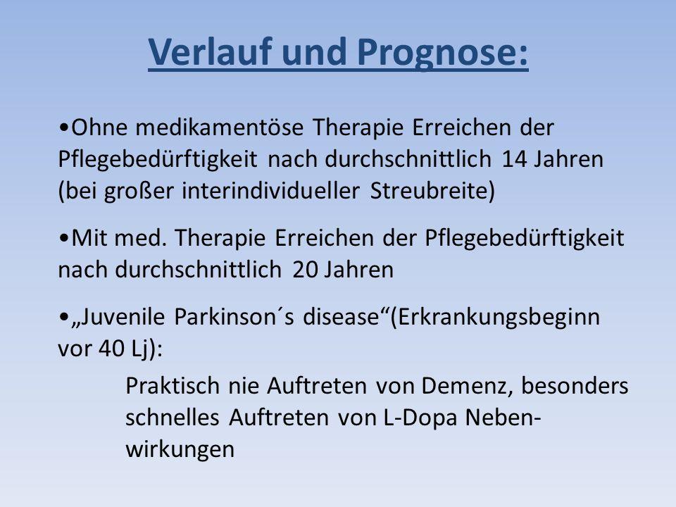 Verlauf und Prognose: