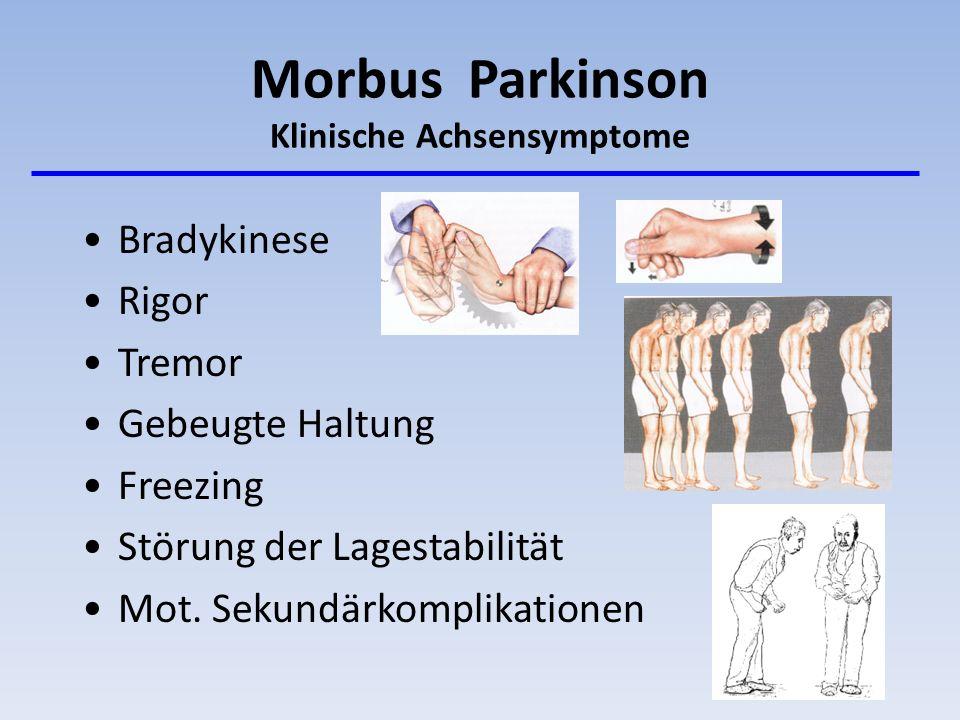 Morbus Parkinson Klinische Achsensymptome