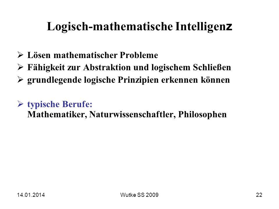 Logisch-mathematische Intelligenz