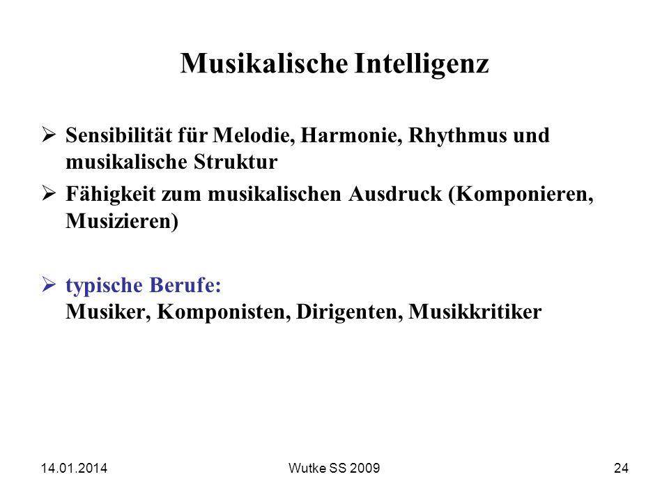 Musikalische Intelligenz