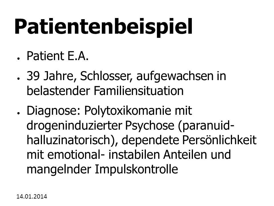 Patientenbeispiel Patient E.A.