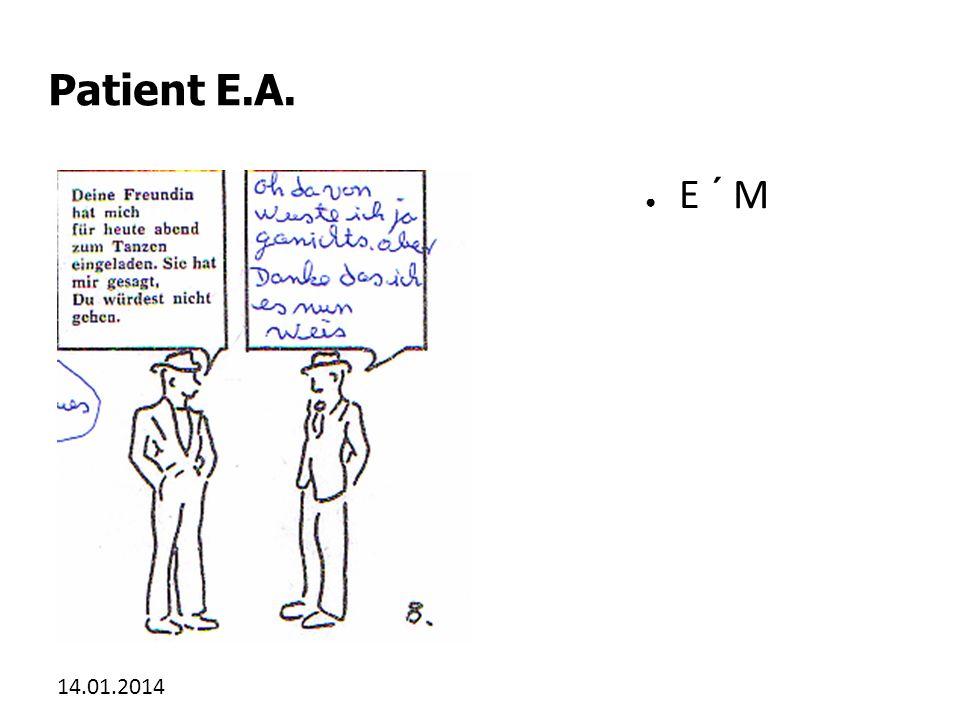 Patient E.A. E ´ M 27.03.2017