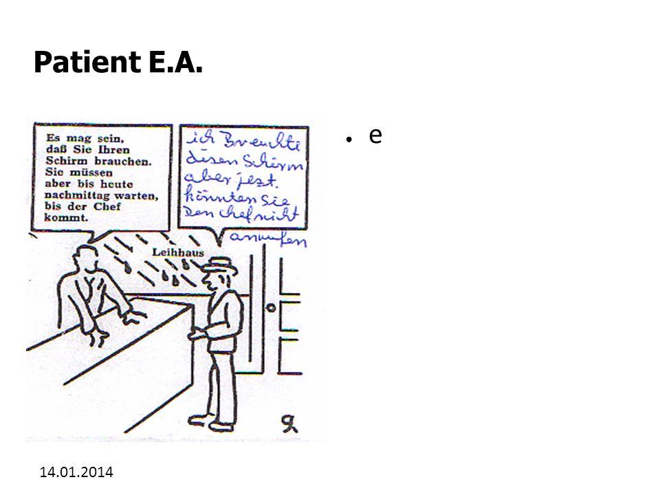 Patient E.A. e 27.03.2017